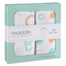 ADEN+ANAIS Swaddle Pucktücher Swaddles 2er Packung Pat the Bunny  120x120cm
